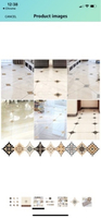 Used 2Pcs of 21 tile diagonal stickers  in Dubai, UAE