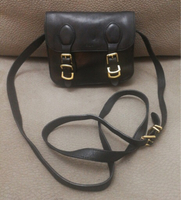 AUTHENTIC RALPH LAUREN REAL LEATHER BAG.