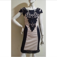 Used Black brown dress-small size in Dubai, UAE