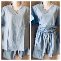 Top and shorts size 3XL