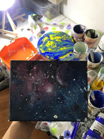 Used Galaxy painting - small size  in Dubai, UAE