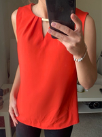 Used Red sleeveless top, S size in Dubai, UAE