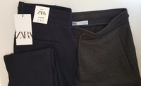 Used ZARA men's trouser black XL, NEW in Dubai, UAE