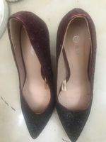 Used Shoes maroon only 50aed  NEW!!37size in Dubai, UAE
