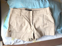 Used Women's MAXAZARIA beige shorts sizeS in Dubai, UAE