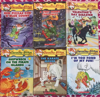 Used Geronimo Stilton books set of 6 in Dubai, UAE
