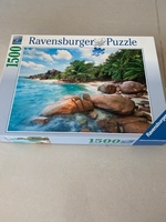 Used 1500 piece jigsaw puzzle  in Dubai, UAE