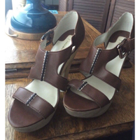 Used Preloved Max Studio wedge shoes in Dubai, UAE