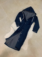 Used Denim longline coat  in Dubai, UAE