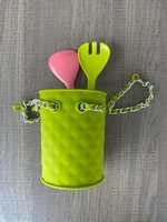 Used Rubber Fashion Cutlery Holder NEW in Dubai, UAE