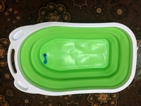 Used Brand new foldable baby bathtub in Dubai, UAE