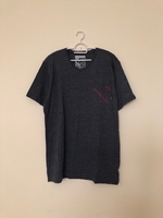Used NEW Men's Casual Shirt LARGE Dark Grey in Dubai, UAE