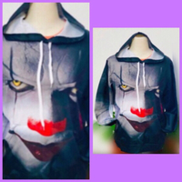 Used 3D Clown Hoodie/S / Unisex  in Dubai, UAE