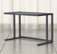 Used Crate and Barrel Pilsen Graphite Desk in Dubai, UAE