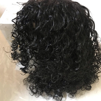 Used Attractive wavy curly hair black (new) in Dubai, UAE