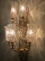 Used Golden Classic and Antique Wall Light  in Dubai, UAE