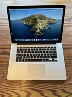 Used MacBook pro retina 15 inch i7 And 8GB in Dubai, UAE