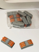 Used Push-in Terminal Block Wire connect 10ps in Dubai, UAE