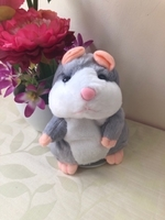 NEW Talking Hamster Plush Toy Recorder