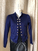 Used Blue double button jacket size 36/S in Dubai, UAE