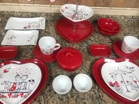 Used Dinnerware set perfect for couples  in Dubai, UAE