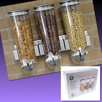 Used #TRIPLE CEREAL DISPENSER  in Dubai, UAE