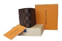 Used LV brown bifold wallet for men plain. in Dubai, UAE