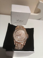 Fashion watch Lupai rose gold color