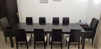 Used 10 seater dining table with buffet  in Dubai, UAE
