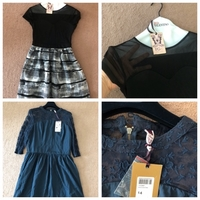 Used 2 dresses size 12-14UK new in Dubai, UAE
