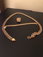 Used Men's dragon gold jewellery set (3pcs) in Dubai, UAE