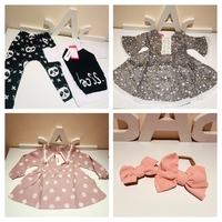 Used Baby Bundle of 4 for size 6-9 & 9-12m in Dubai, UAE