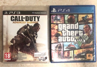 Used GTA 5 - PS4 & Call of duty - PS3 in Dubai, UAE