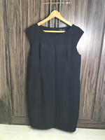 Used Preloved Sleeveless Dress Size 16 Black  in Dubai, UAE
