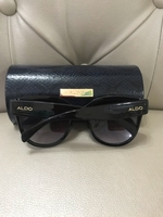 Used ALDO SUNGLASSES WITH LEATHER CASE... in Dubai, UAE
