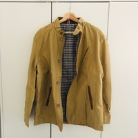 Used Men's beige jacket size XXL in Dubai, UAE