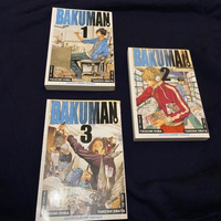 Used BAKUMAN manga volumes 1,2,3 in Dubai, UAE