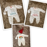 Used Patpat baby clothes size 0-3 months  in Dubai, UAE