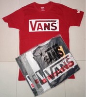 Used T-shirt vans 5 pcs Large PROMO only in Dubai, UAE