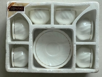 Used Brand New 6 Cups & Saucer Set in Dubai, UAE