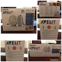 Philips Avent Baby monitor DECT Audio