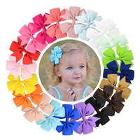 Used 20pcs Baby Girl Hair Bow Clips Barrettes in Dubai, UAE