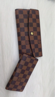 Used New lv wallet 2 pcs set with box class A in Dubai, UAE