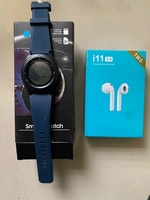 Used Smart watch with sim card and earphones  in Dubai, UAE