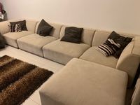 Used Sofa corner set with carpet in Dubai, UAE