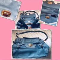 Used Authentic Miu Miu powder blue in Dubai, UAE