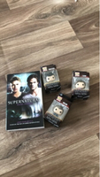 Used Supernatural tv show funko pop and book in Dubai, UAE