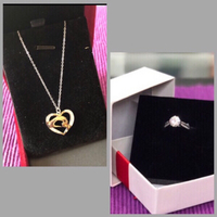 Used Fancy/ Fashion ❤️ Necklace / Ring/6 in Dubai, UAE