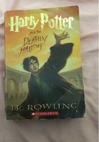 Used Harry Potter deathly hallows book in Dubai, UAE