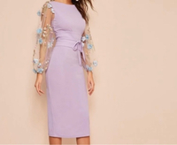 Used Dress with a belt size S in Dubai, UAE